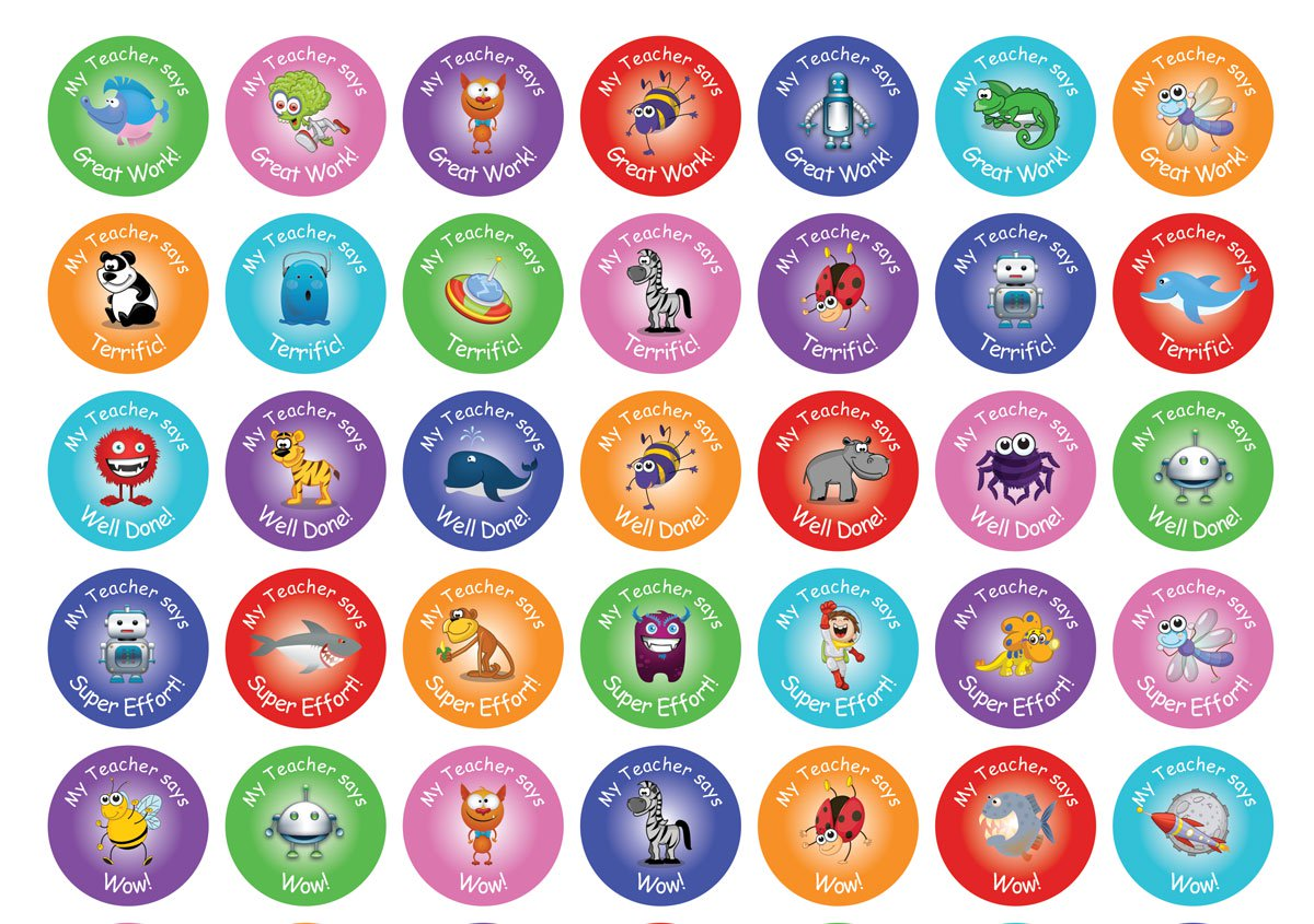 Personalised teacher merit sticker sample teacher stickers australia