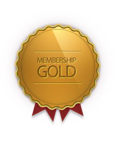Gold Membership - Teacher Stickers
