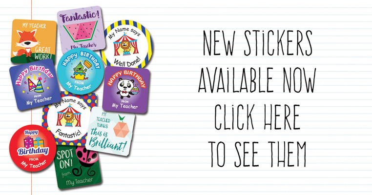 New Stickers available - Teacher Stickers