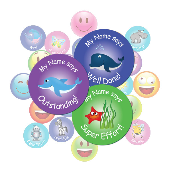 Sea Animal Sticker Gift Pack