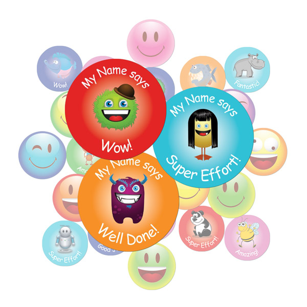 Monster Sticker Gift Pack