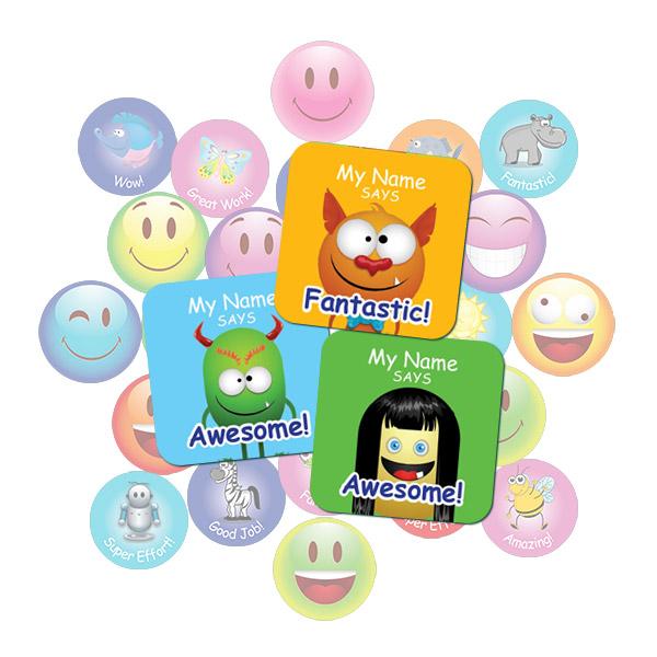 Monster Square Sticker Gift Pack