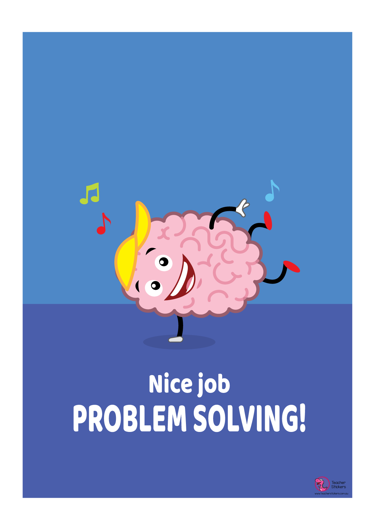 Growth Mindset Poster - Nice Job Problem Solving