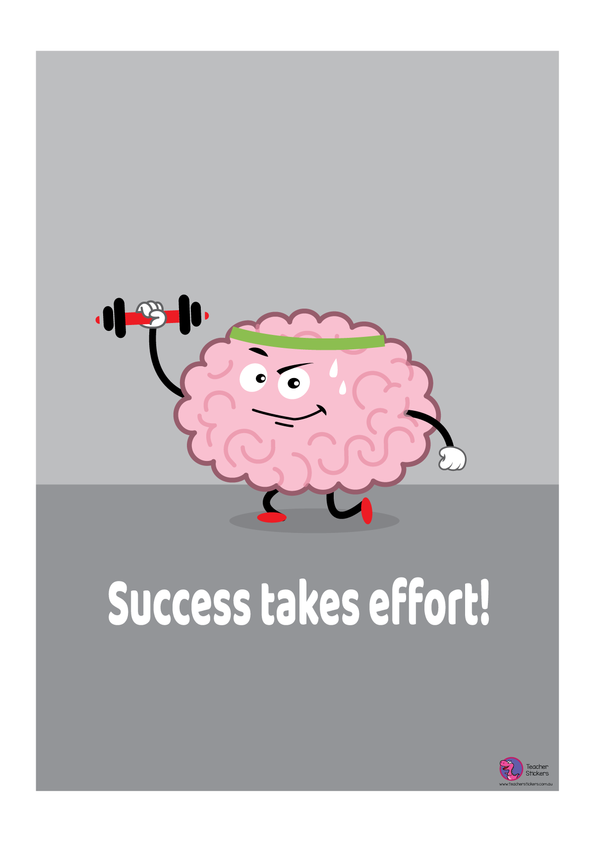 Growth Mindset Poster - Success Takes Effort