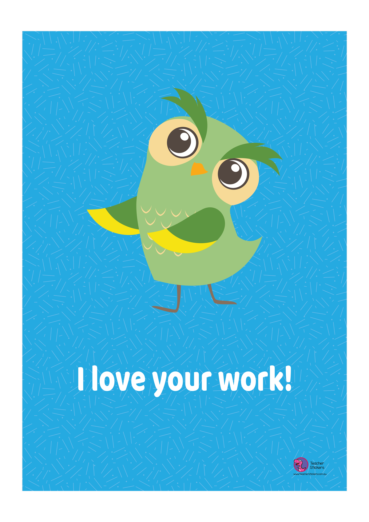 Owl-Poster-I-love-your-work
