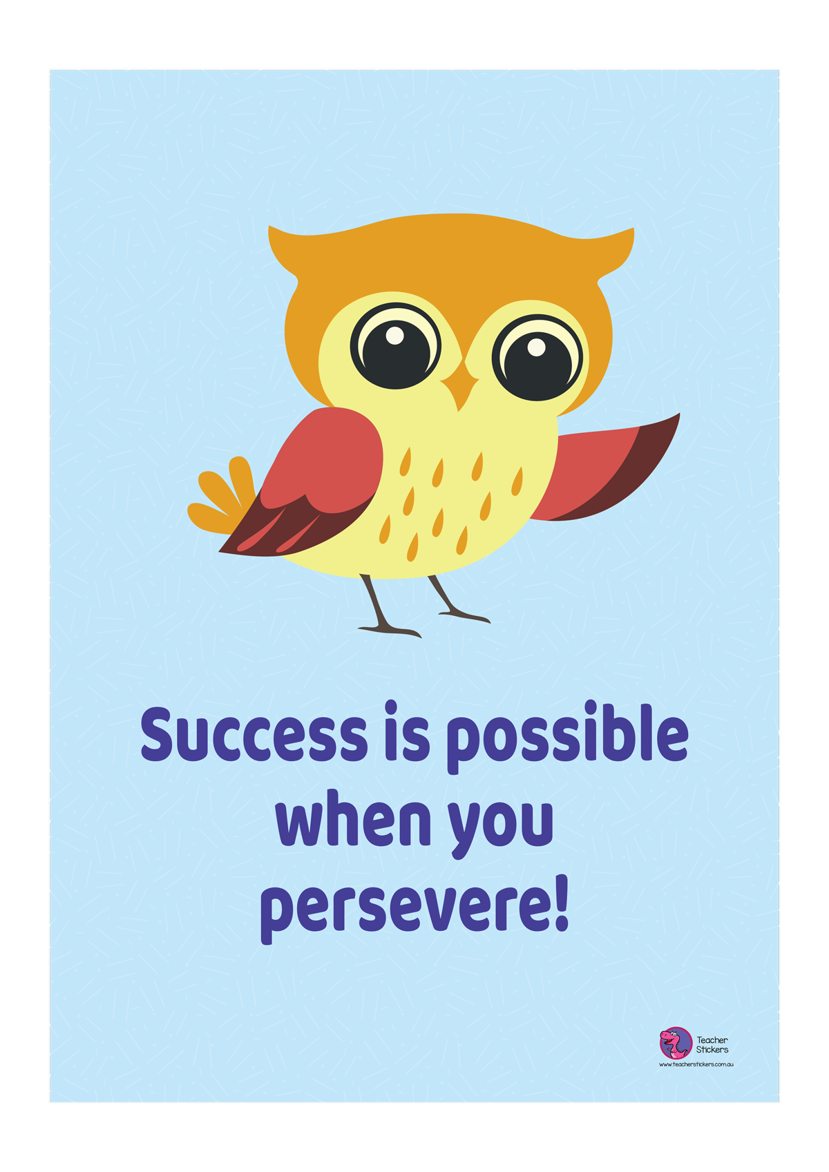 Owl-Poster-Success-is-possible