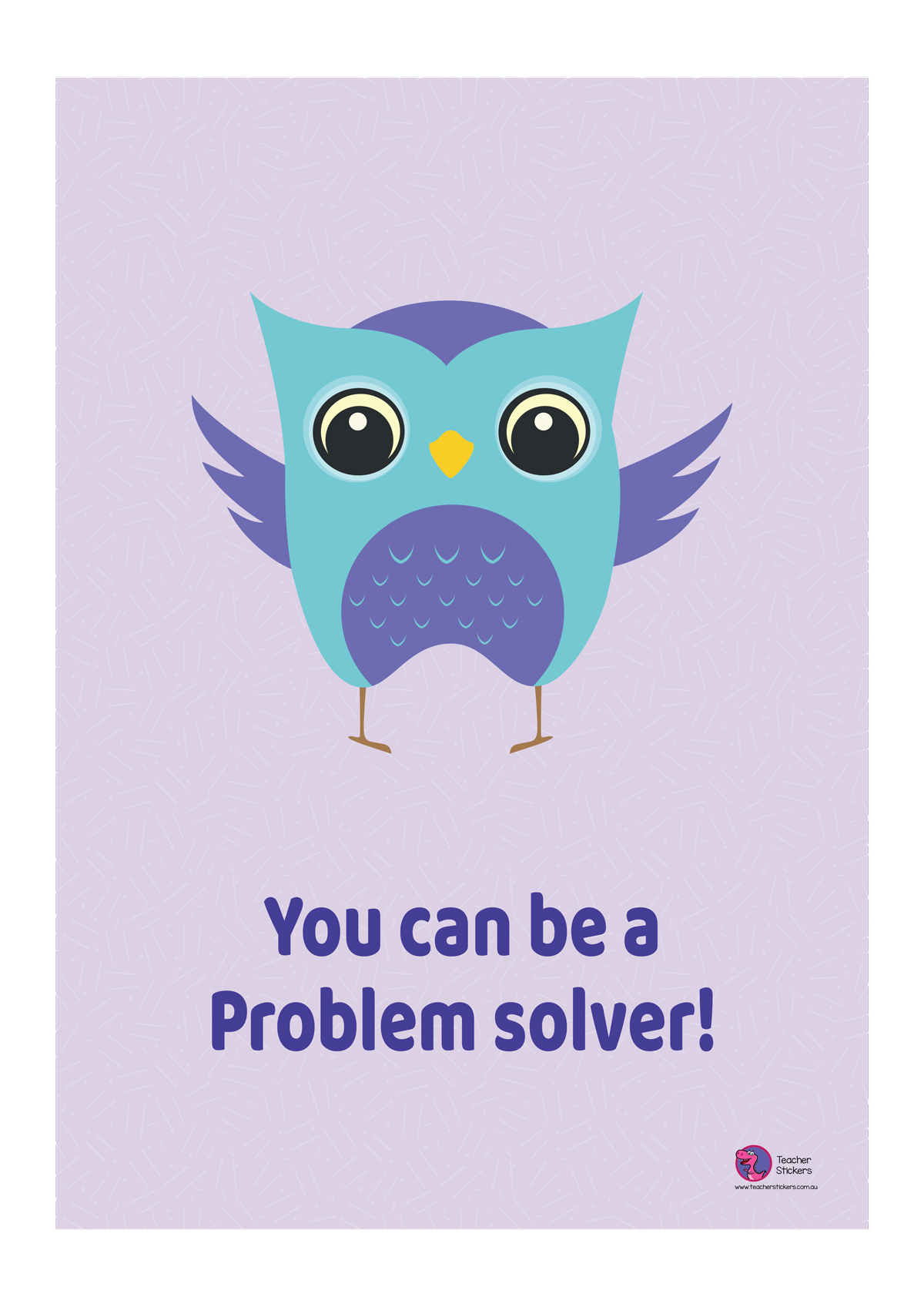 Owl-Poster-You-can-be-a-problem-solver