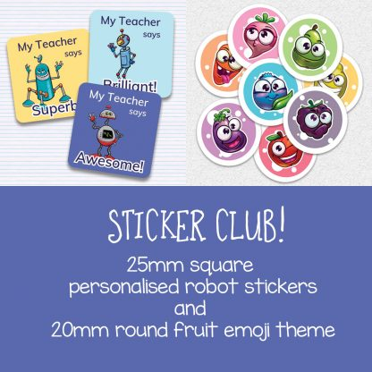 Sticker Club preview sept-oct 2019