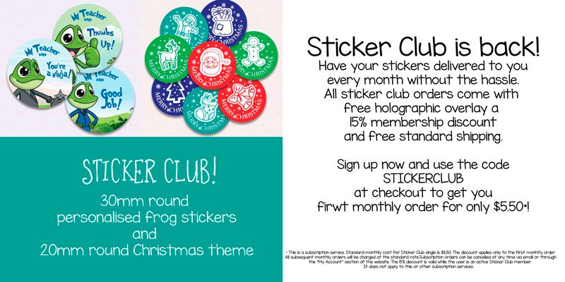 Sticker Club November