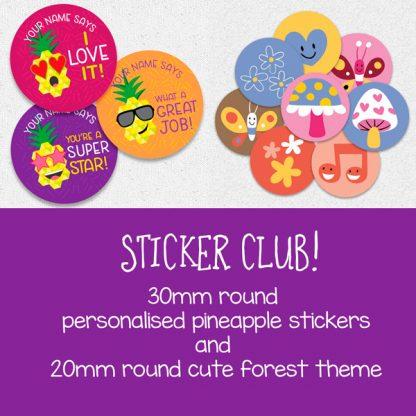 Sticker Club August September 2019