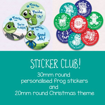 Sticker Club November-December 2019