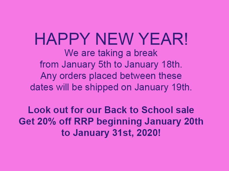 January 2020 holidays