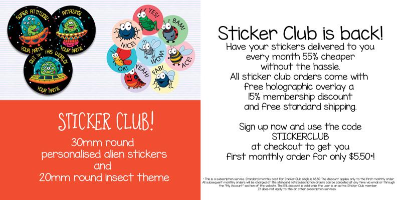 Sticker Club March 2020