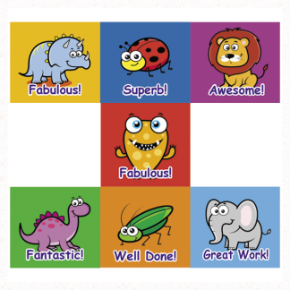 virtual classroom stickers from Teacher Stickers